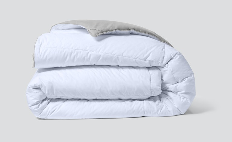 Folded humidity fighting duvet