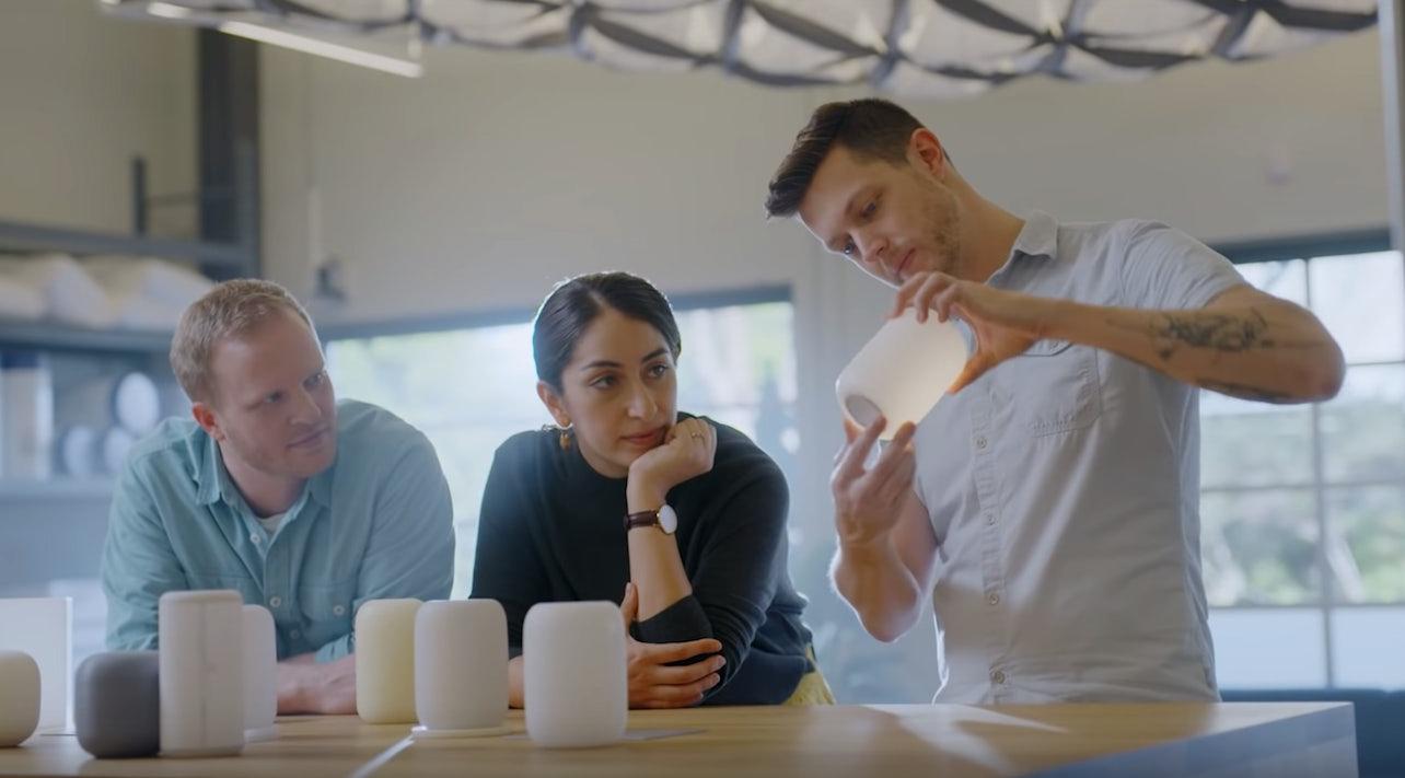 Casper experts work on the Glow Light