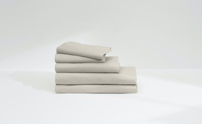 Percale Sheet Set, Oatmilk