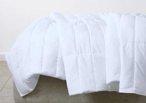 Folded Lightweight Down Alternative Duvet
