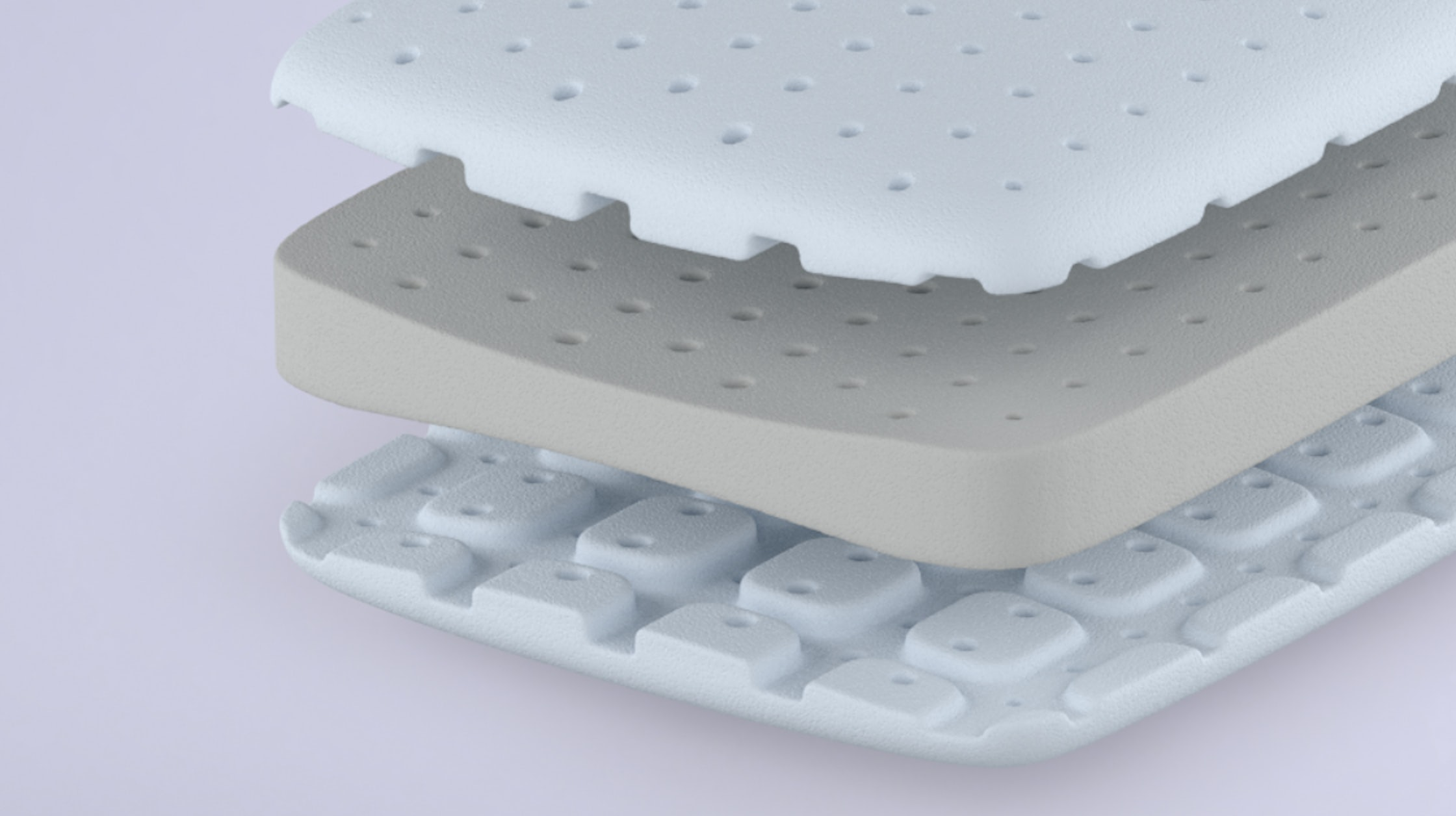 Foam pillow structure