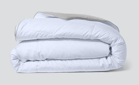 Folded lightweight humidity fighting duvet