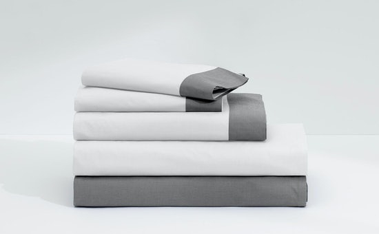 Folded stack of Casper Supima sheets