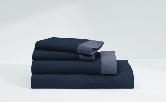 Folded stack of Casper Supima sheets