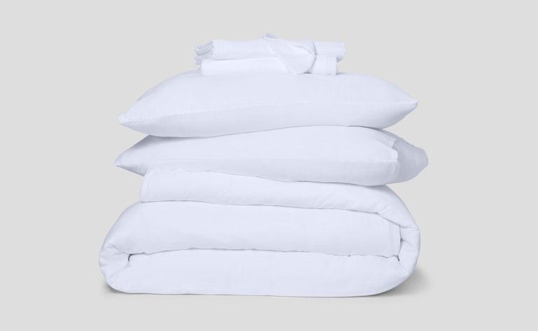 Hyperlite Sheet Set + Duvet Cover, White