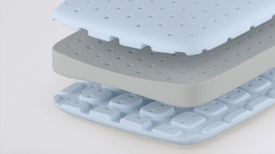 Foam pillow structure