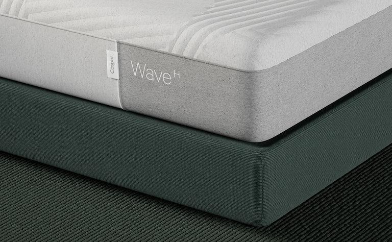Corner of wave hybrid mattress