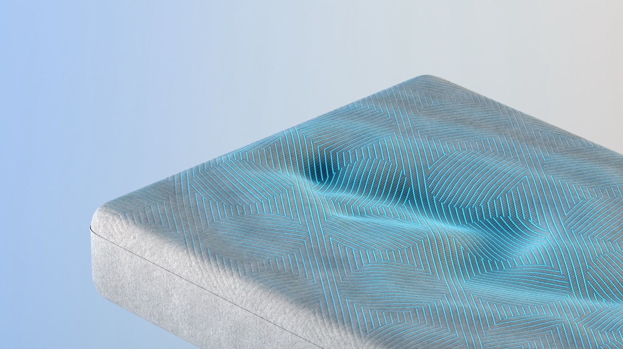 QuickCool™ Cover demonstrates Snow Technology cooling properties.