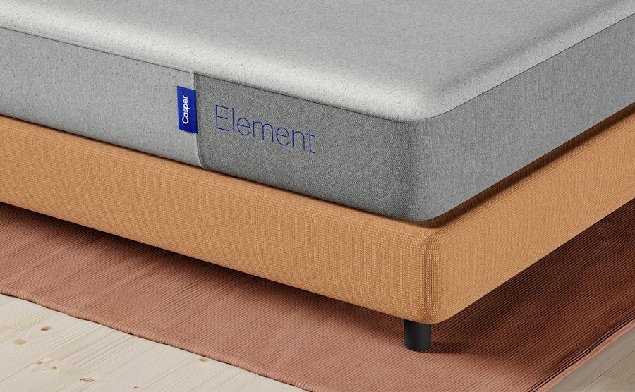 Corner of element mattress